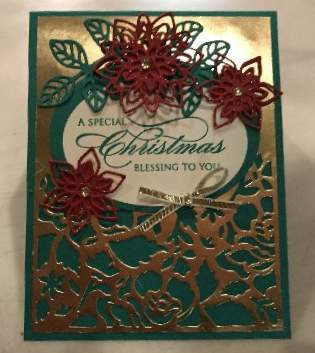 Detailed Floral and Flourish Thinlits for Christmas