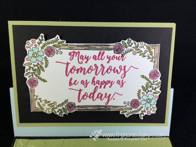 Love You Still, Easel Frame Card, Stampin'Up!, Frenchiestamps,
