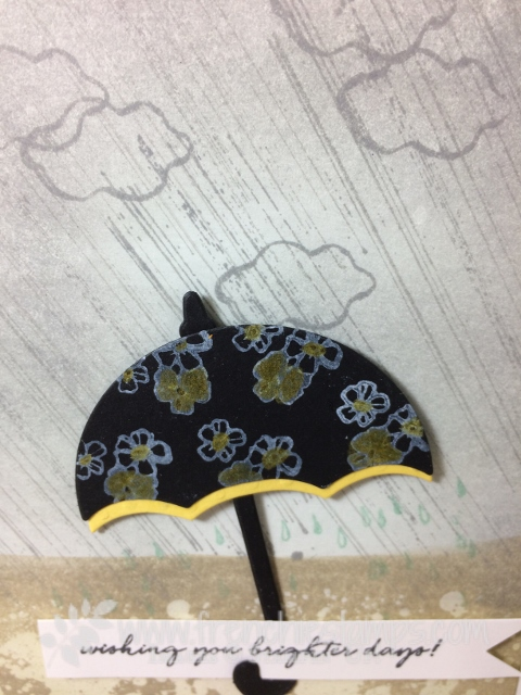 Weather Together, Gorgeous Grunge, Rainy Day, Stampin'Up!