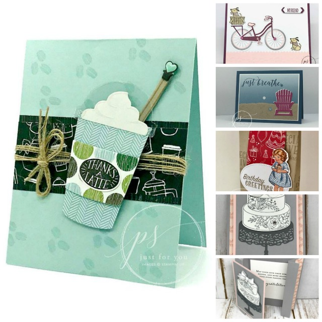 Stampin'Up! Bundles save 10%, Caffee Cofé, Birthday Delivery, Sweet Soirée, Frenchiestamps.com