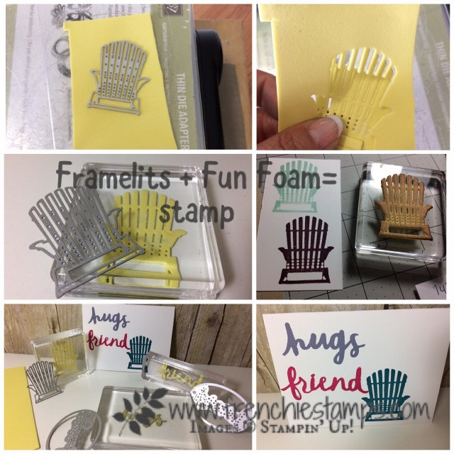 Make your own stamp with fun foam