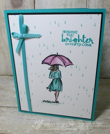 Beautiful You, Watercolor Blender Pen Stampin'Up!
