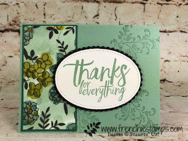 Share What You Love Designer Paper, All Thing Thanks, Timeless Texture, Stampin'Up!, Frenchie stamps