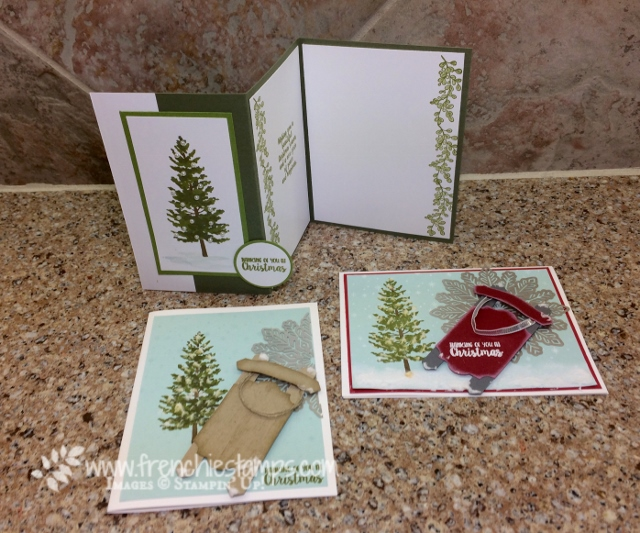 Season Like Christmas, everyday Label Punch Sled, Stampin'Up!