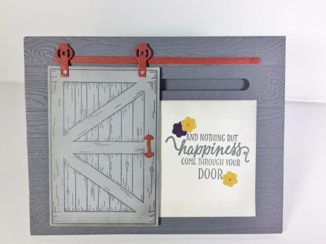 Barn Door, Sliding Door, Single Track, Stampin'Up!