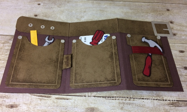 Tool Belt Nailed It, Stampin'Up!