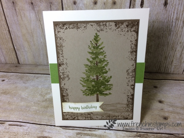 Season like Christmas, Masculine Card, Stampin'Up!, Frenchiestamps,