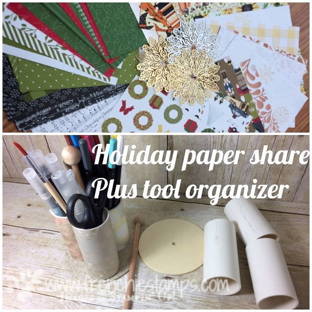 Stamping Tool Organizer, Stampin'Up! Holiday 2017 Paper share