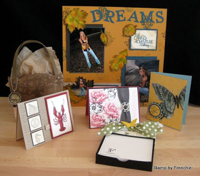 Stampin'Up! Scrapbook, Cards, 3-D