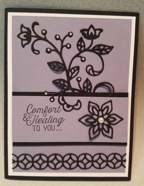 Flourishing Phrases, Stampin'Up! Frenchie's Customer Appreciation