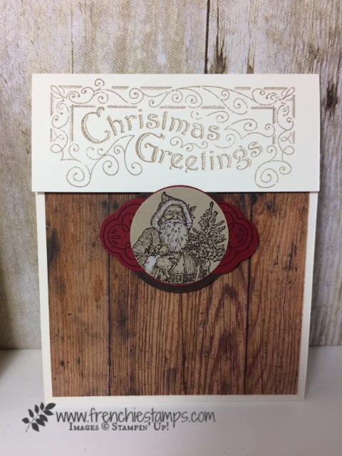 Stampin'Up! Father Christmas, Christmas in July