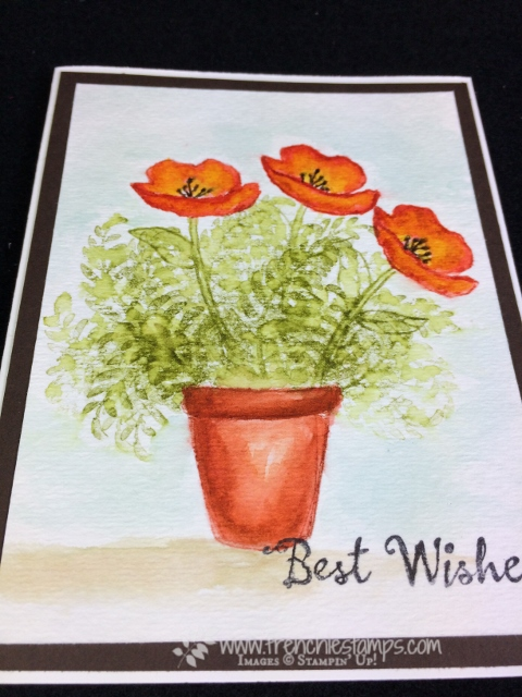 Wild Watercolor, Awesomely Artistic, Birthday Blooms, Stampin'Up!