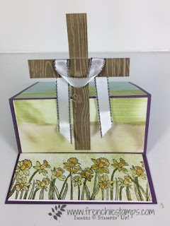 You're Inspiring, Where ever you go, Easter Easel Card. Stampin'Up!