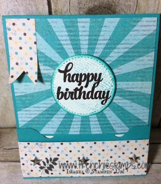 Gift Card Holder envelop punch Board, Stampin'Up!