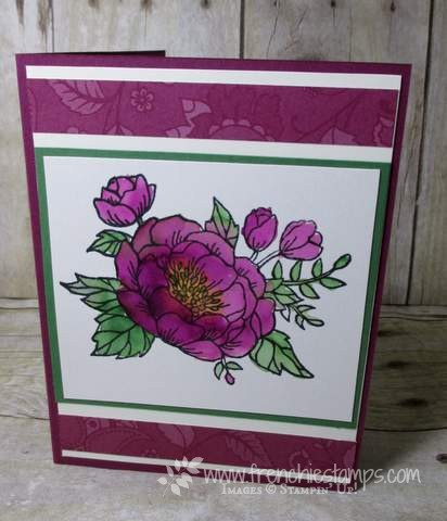 Pop Up Book Card Birthday Blooms