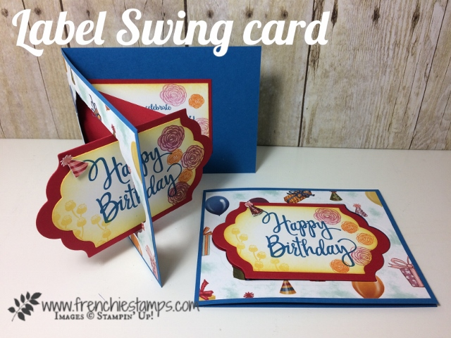 Stylized Birthday, Happy Birthday Gorgeous,  Lots of Labels, Birthday Memories, Video, Label Swing Card ,