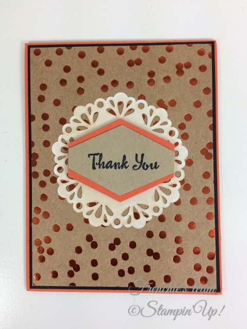 Petal Palette, Tailored Tag Punch, Stampin'Up!, Frenchie Team.