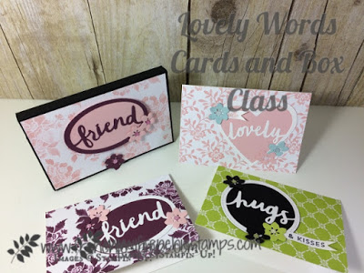 Lovely Words Thinlits, Stampin'Up! Frenchiestamps,