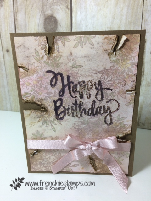 Awesomely Artistic, Stylized Birthday, Glossy Paper, wink of stella, Stampin'Up!