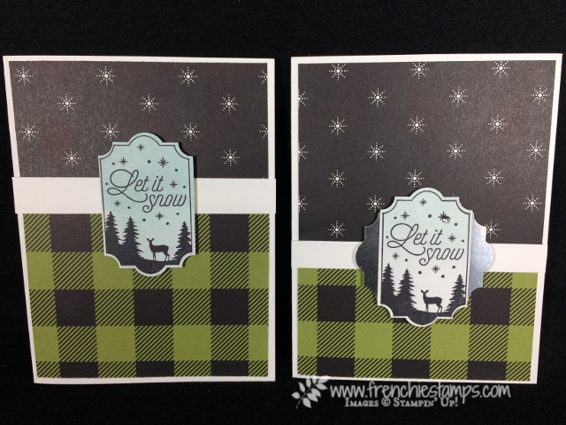 Merry little Christmas designer paper, Everyday Label Punch,  Merry Little Label,
