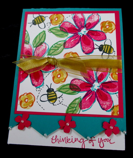 Blod and Bright blog hop with Stampser's Dozen