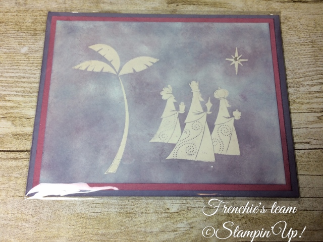 Glossy Paper, Wise Men form Afar, Stampin'Up!