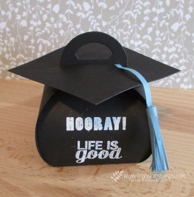 Graduation Cap with Curvy Keepsake Box