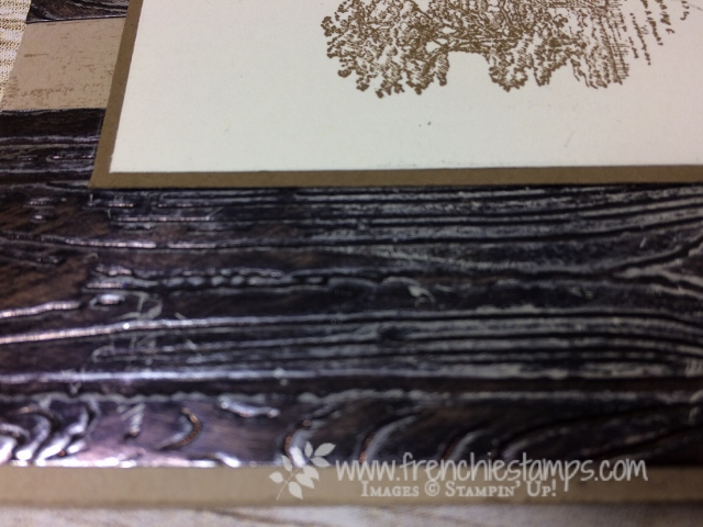 Heartland, Masculine Card, Pinewood Planks embossing folder, Copper Tarnish, Stampin'Up!