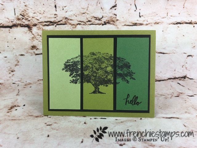 Ombree Tecnique, Rooted In Nature, Stampin'Up!, Frenchiestamps,