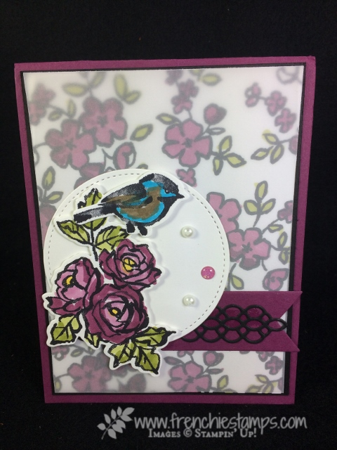 Petal Palette, Stampin'Up!, Frenchie Stamps