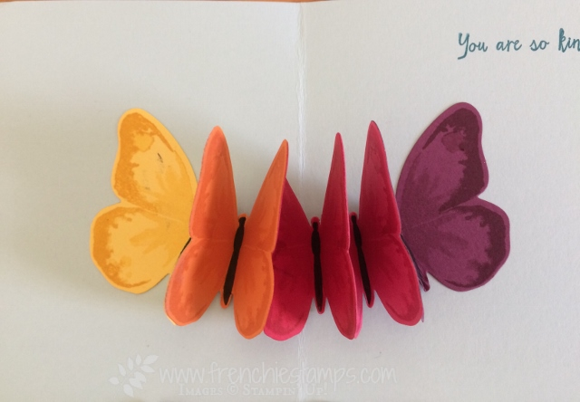 Watercolor Wing, Floating Butterfly, Stampin'Up!