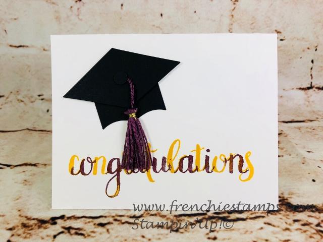 Graduation Cap Greeting Card, Best Batch Punch, Amazing Congratulation,