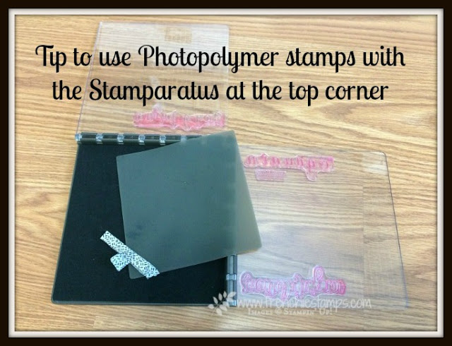 Stamparatus and Photopolymer, Stamparatus Silicone Mat, Stampin'Up!, Frenchiestamps,