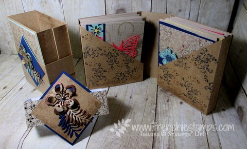 Last Chance Book/cards Holder and Blog Candy