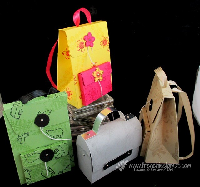 Backpack and Lunch Box Free PDF with qualified order