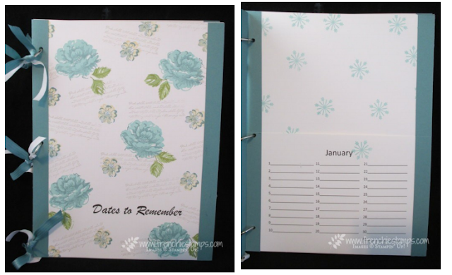 Portfolio Card Keeper, Frenchie Stamps, PDF tutorial