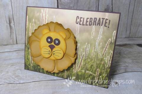 Lion Punch Art Blossom builder punch Free shipping class in the mail
