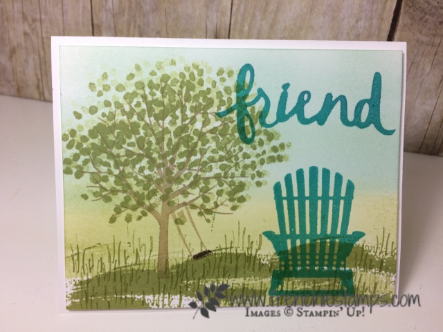 Sheltering Tree, Seasonal Layers, Lovely Words thinlits, Stampin'Up!