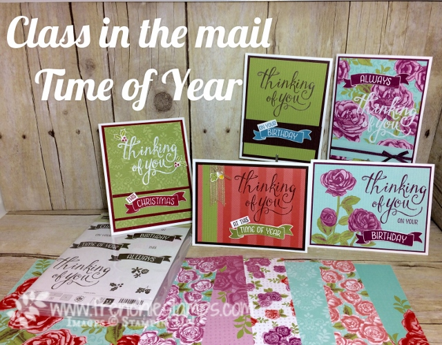 Time of the Year class in the mail