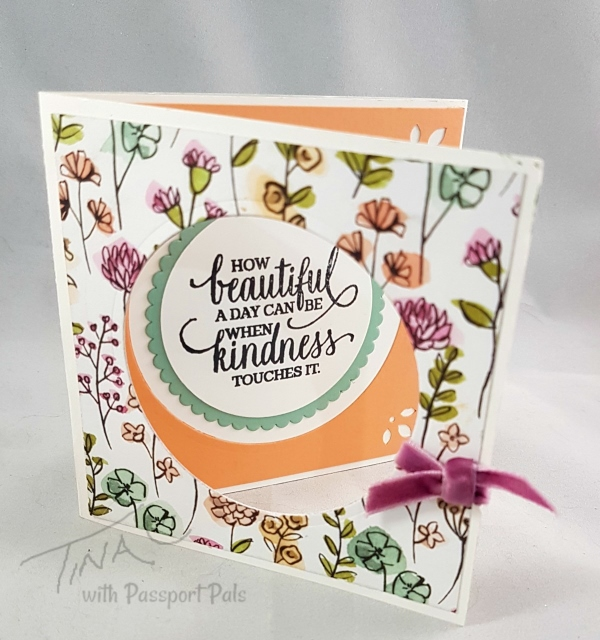 Passport Pals Customer Appreciation, Share What You Love Designer paper, Stampin'Up!, Frenchie Stamps,