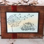 Frenchie Team in the Spotlight, Dandelion Wishes, Frenchie Stamps, Stampin