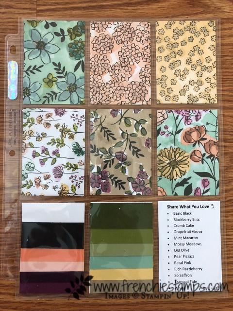 How I Organize my Designer Series Paper
