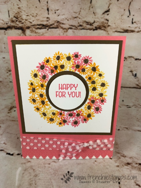Stamparatus Circle, Wreath, Bouquet Blooms, Bike Ride, Delicate Lace Edgelits, Stampin'Up!, Frenchie Stamps,