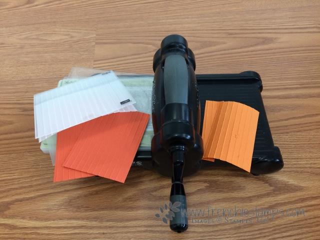 Embossing Folder solution, No more cracking cardstock, Stampin'Up!
