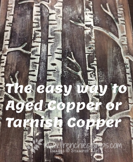 Easy Age Copper br. One ink with Copper Foil