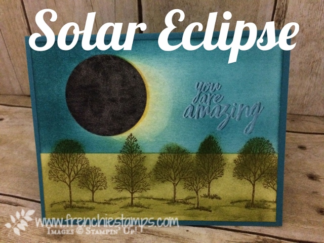 Solar Eclipse 2017 greeting Card