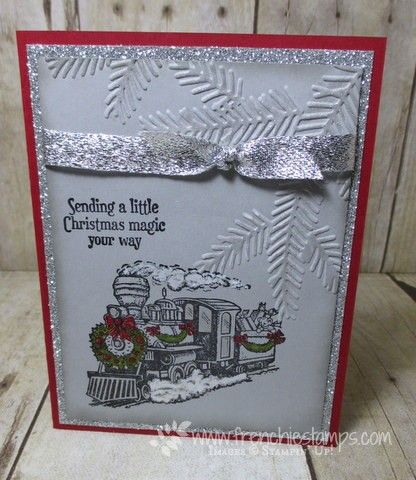 Christmas Magic with Pine Bough