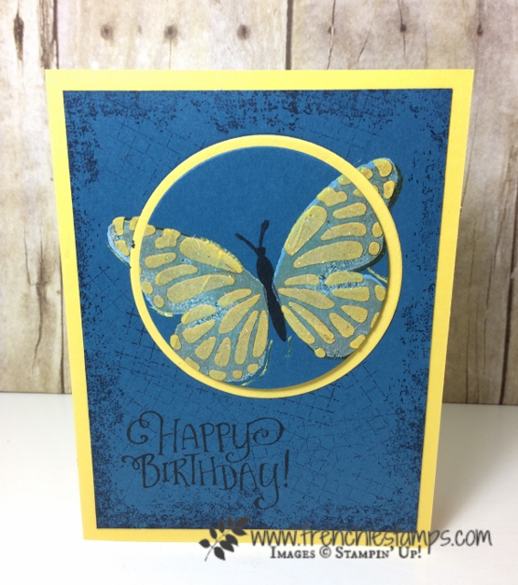 Detailed Dragonfly, butterflies thinlits, Embossing Paste, Stampin'Up!