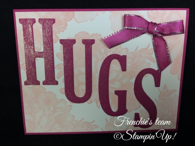 Heartfelt Blooms,  Sale a Bration and Occasion Stampin'Up! 2018, Frenchie stamps in the Spotlight,