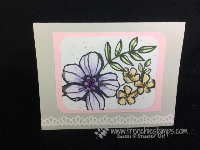 Petal Passion, Stampin'Up!, Frenchie Stamps
